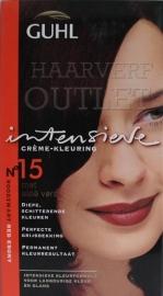 Guhl Intensieve Creme-kleuring 15 Roodzwart