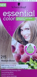 Schwarzkopf Essential Color 215 Midden Blond