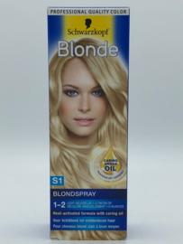 Schwarzkopf Blonde S1 Blondspray