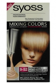 Syoss mixing colors 9-52 Parelmoer Lichtblond