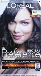 L`Oreal Recital Preference 4.013 Natuurlijk Elegant Goudbruin