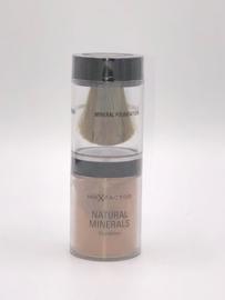 Max Factor Natural Minerals Foundation 80 Bronze