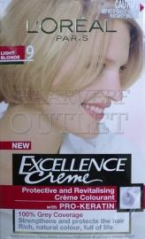 L`Oréal Excellence Creme 9 Licht Blond