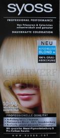 Syoss Professional Performance 10-96 Sandy Blond