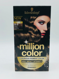 Schwarzkopf Million Color 5-0 Puur Bruin