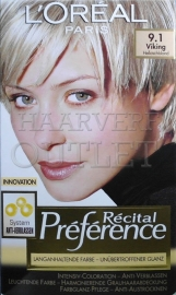 L`Oreal Recital Preference 9.1 Viking Blond