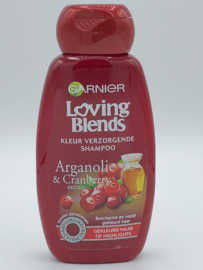 Garnier Loving Blends Kleurverzorgende Shampoo Arganolie & Cranberry 250 ml
