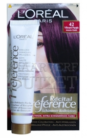 L`Oreal Recital Preference 42 Intensief Paars