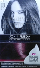 John Frieda Precision foam 4R Dark Red Brown