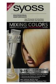Syoss mixing colors 9-15 Chroom Blond Metallic