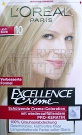 L`Oréal Excellence Creme 10 Licht Blond