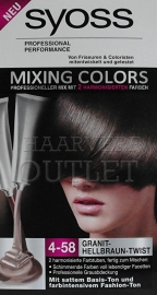 Syoss mixing colors 4-58 Cool Mocca Twist