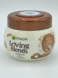 Garnier Loving Blends Voedend 3-in-1 Masker Kokos Crème & Macadamia 300 ml