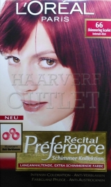 L`Oreal Recital Preference 66 Intensief Rood