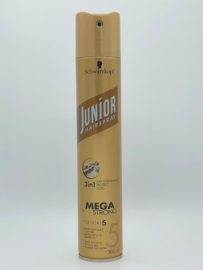 Schwarzkopf Junior Hairspray Mega Strong 5  300ml