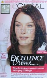 L`Oréal Excellence Creme 4.54 Donker Koper Mahonie