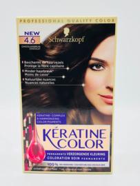 Schwarzkopf Keratine Color 4.6 Chocoladebruin