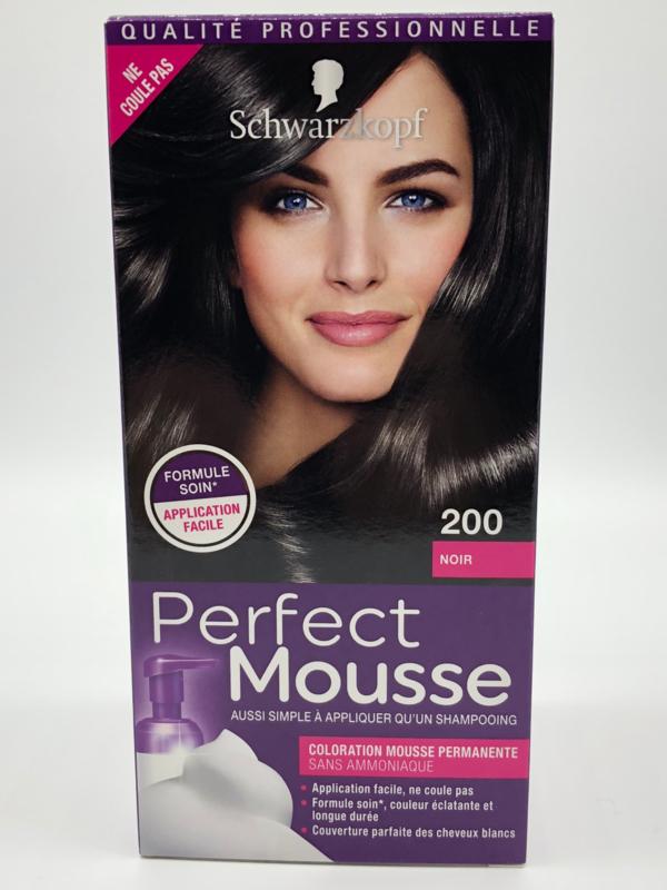 Schwarzkopf Perfect Mousse 200 zwart