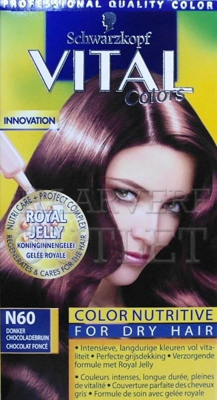 Schwarzkopf Vital Colors N60 Donker Chocoladebruin