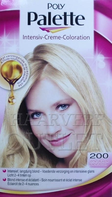 Schwarzkopf Poly Palette 200 Licht Natuurlijk Blond