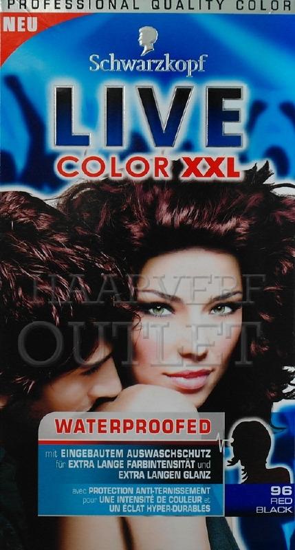 Schwarzkopf Live Color XXL 96 Red Black