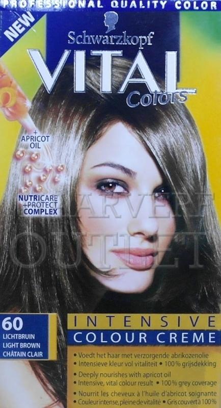 Schwarzkopf Vital Colors 60 Lichtbruin