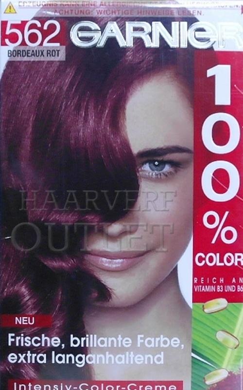 Garnier 100% Color 562 Bordeaux Rood
