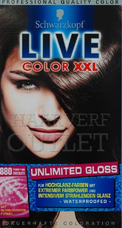 Schwarzkopf Live Color XXL 880 Tempting Chocolate