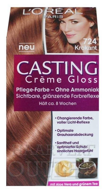 L`oreal Casting Creme Gloss 724 Nougat