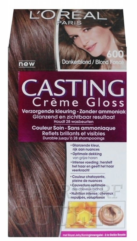 L`oreal Casting Creme Gloss 600 Donkerblond