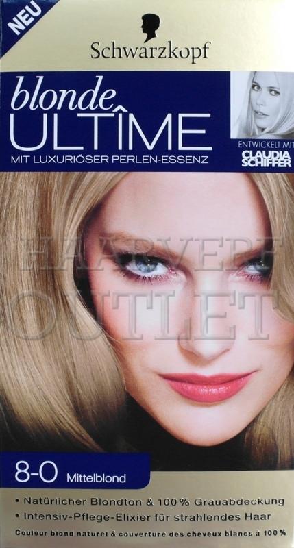 Schwarzkopf Blonde Ultime 8-0 Mittel Blond