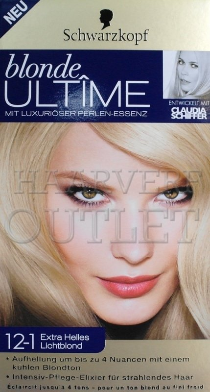 Schwarzkopf Blonde Ultime 12-1 Extra Helles Lichtblond