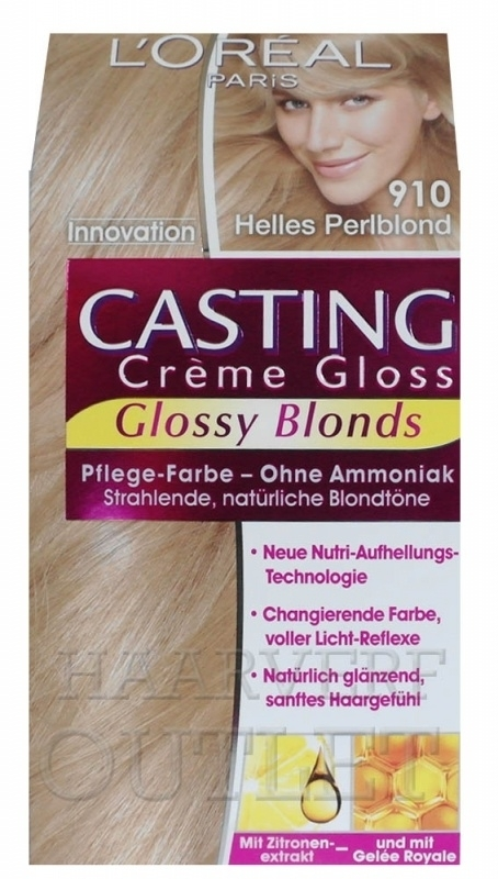 L`oreal Casting Creme Gloss 910 Licht Parelblond