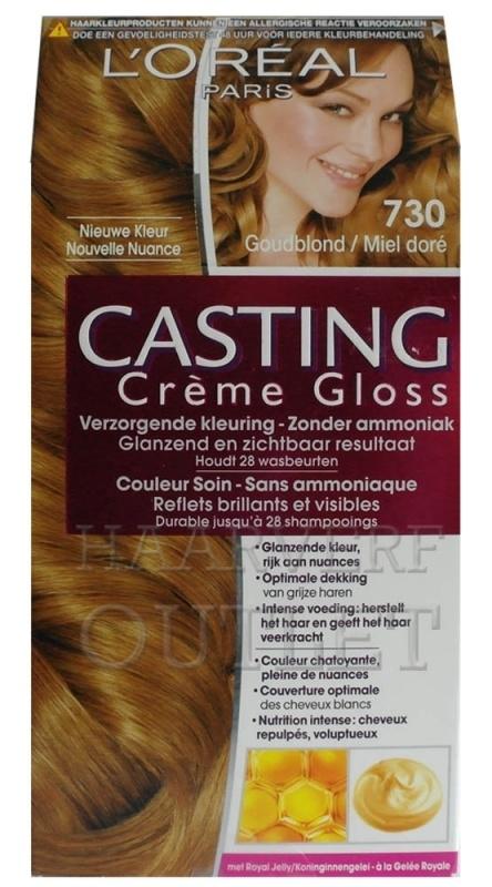 L`oreal Casting Creme Gloss 730 Goudblond