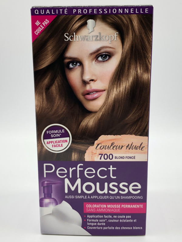Schwarzkopf Perfect Mousse 700 donker blond