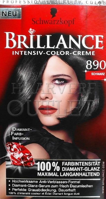 Schwarzkopf Brillance 890 Zwart