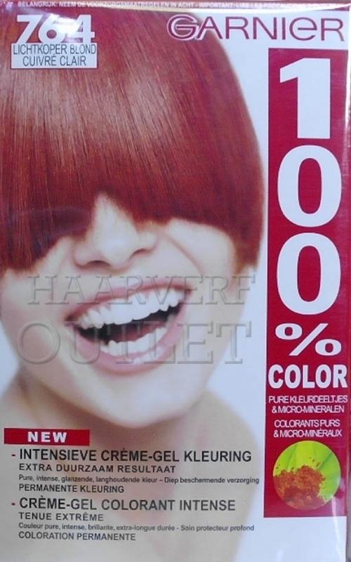 Garnier 100% Color 764 Lichtkoper Blond