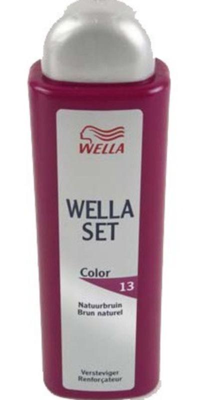 Wella Set Color 13 Natuurbruin versteviger 100 ml