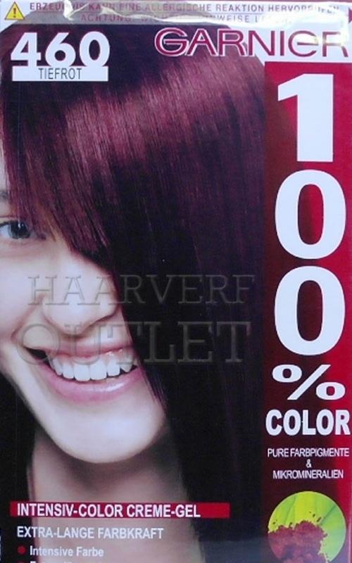 Garnier 100% Color 460 Dieprood