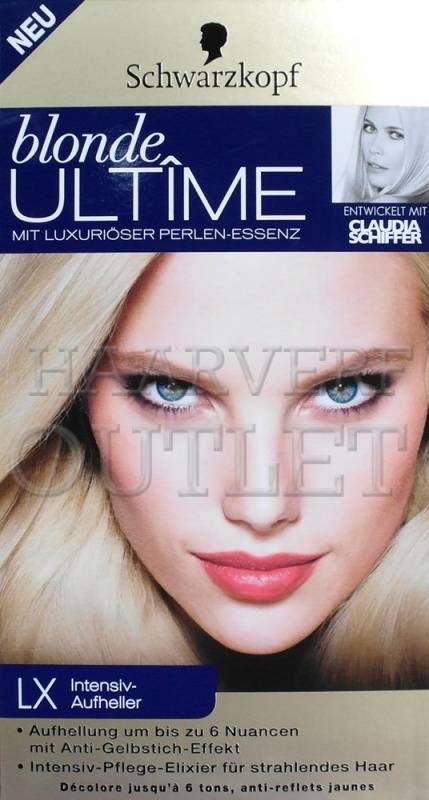 Schwarzkopf Blonde Ultime LX Intensieve oplichter