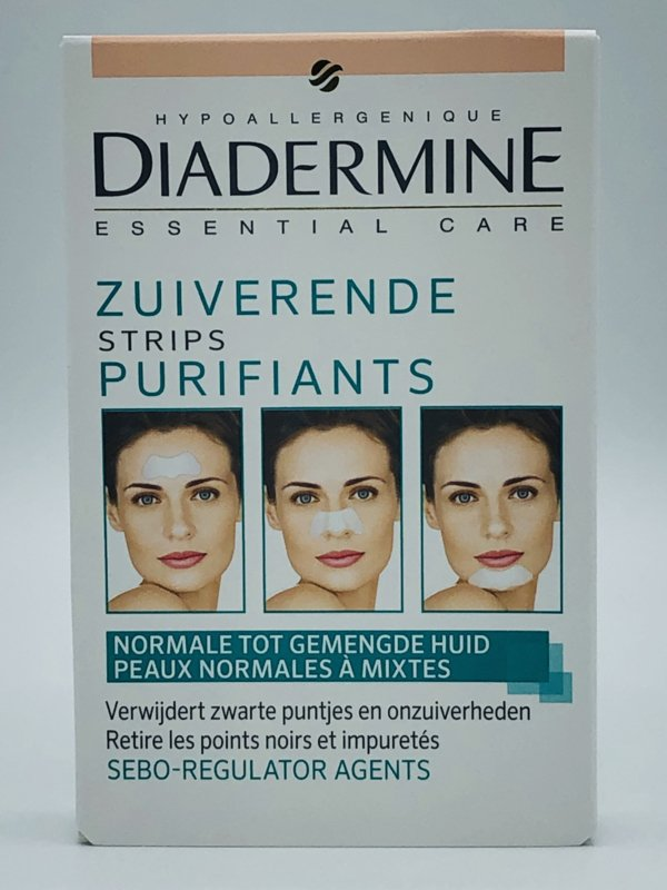 Diadermine Essential Care Zuiverende Strips