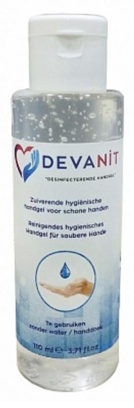 Devanit desinfecterende handgel 110 ml