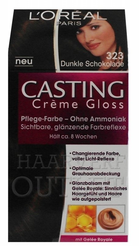 L`oreal Casting Creme Gloss 323 Donker Chocolade
