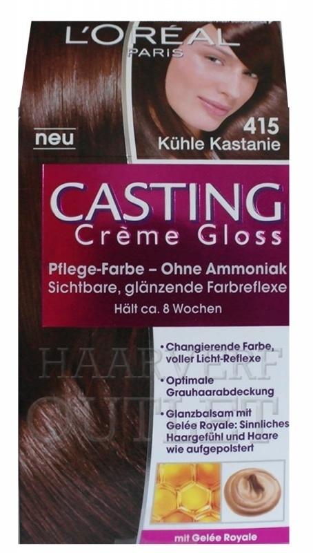 L`oreal Casting Creme Gloss 415 Midden Kastanjebruin