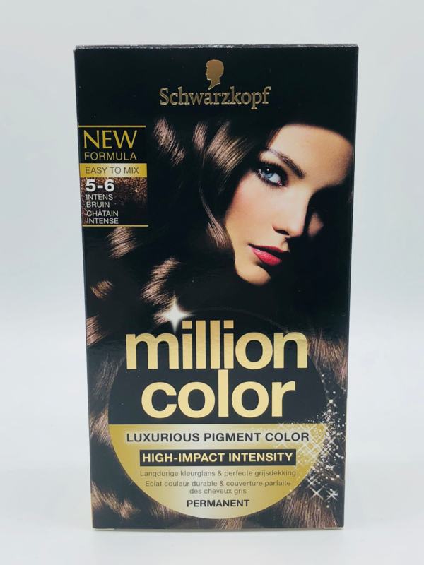 Schwarzkopf Million Color 5-6 Intens Bruin