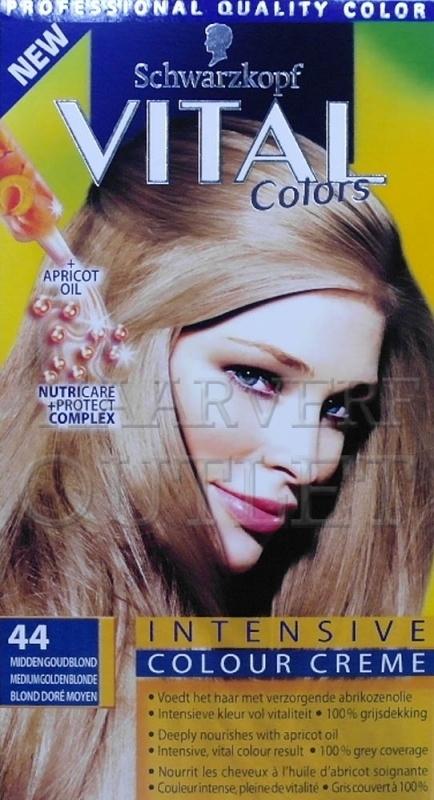 Schwarzkopf Vital Colors 44 Midden Goudblond