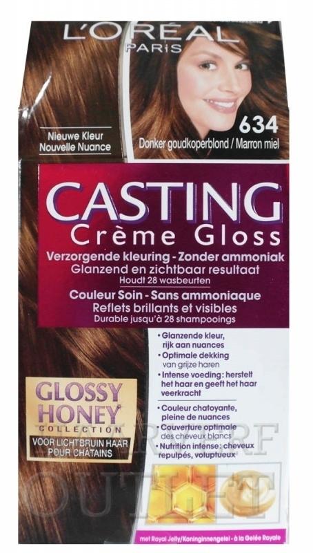 L`oreal Casting Creme Gloss 634 Donker Goudkoperblond