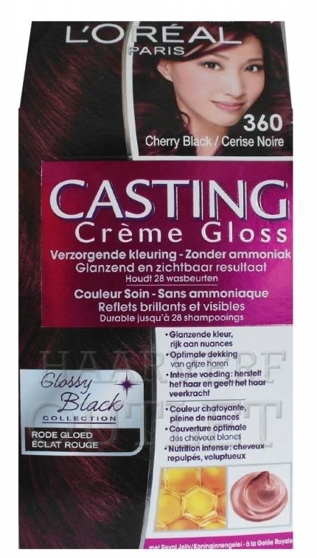 L`oreal Casting Creme Gloss 360 Cherry Black