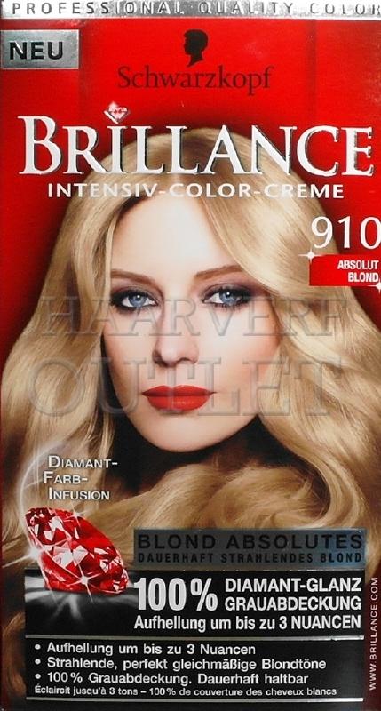 Schwarzkopf Brillance 910 Absoluut Blond
