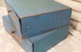 Blauwe archiefdozen VERKOCHT